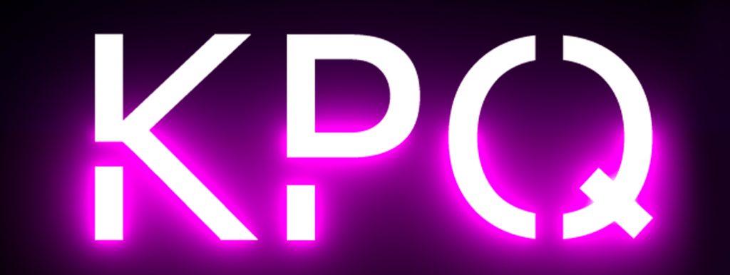 kpq logo neon